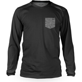 Loose Riders Pocket Longsleeve Jersey Heren, black